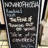 This Dublin cellar bar's chalkboards speak to every wine lover