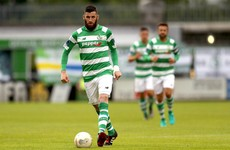Shamrock Rovers player departs club after being 'left in the stands with no explanation'