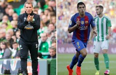 Rodgers reunited with Suarez and what to look out for as Champions League group stages return