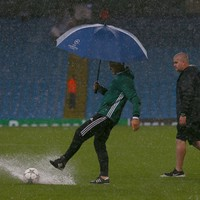 Man City's Champions League game rescheduled for Wednesday due to 'adverse weather'