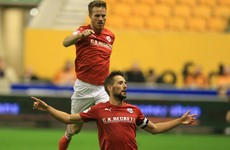 Irish midfielder Hourihane continues his fine Championship form