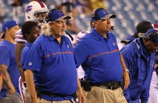NFL coach has gastric band removed 'in solidarity' with his brother