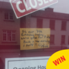 This barbers in Kildare had the best excuse for closing up early
