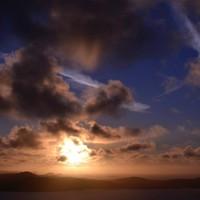 15 photos of the spectacular sunset around Ireland last night