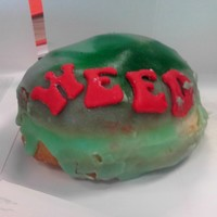 We tried this Dublin donut shop's brand new 'weed' donut