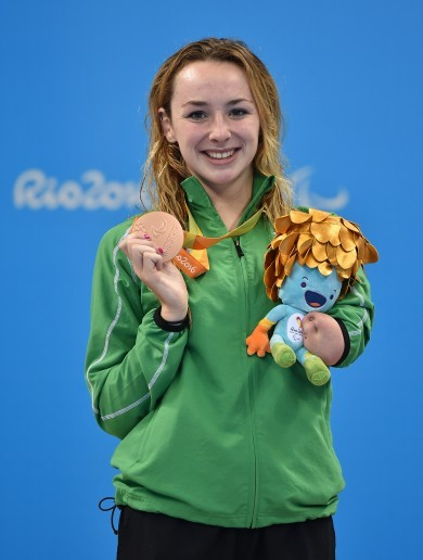Ellen Keane produces the performance of her life to win bronze in the pool