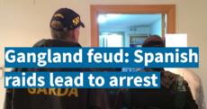 VIDEO: Wads of cash and a gun seized in Spanish raid over Dublin gangland feud