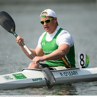 Cork's Pat O'Leary makes Paralympic history on the Rio water