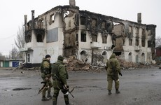 While a ceasefire takes hold in Syria, the war in eastern Europe rumbles on with almost 10,000 dead