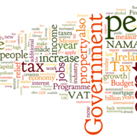 Here's Michael Noonan's Budget 2012 speech… as a word cloud