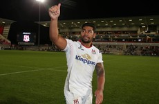 Piutau back for Ulster with Jackson and Henderson set to play for the first time this season