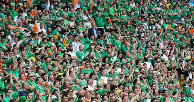 Irish fans to be awarded by Uefa for their 'outstanding contribution' to Euro 2016