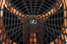 Spidey seats: Lexus reveals web seating concept using 'synthetic spider silk'