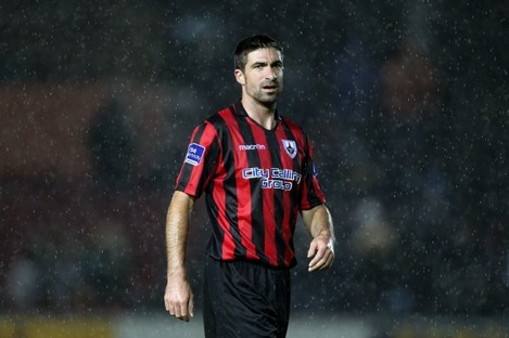 Longford's Kevin O'Connor (file photo).