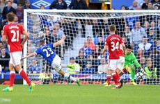 Coleman on target as Everton remain second after victory over Middlesbrough