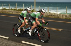 We've hit 10! Dynamic duo Dunlevy and McCrystal win silver in Paralympic Road Race