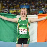 16-year-old Noelle Lenihan battles through injury to win Paralympic bronze