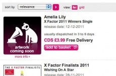 HMV denies X Factor fix after posting Amelia Lily's 'winner's single'