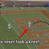 American football player completely forgets the rules, gifts opposition a touchdown