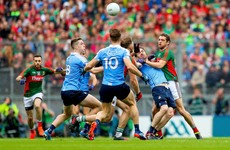 Late O'Connor point rescues draw for Mayo against Dublin in All-Ireland senior final
