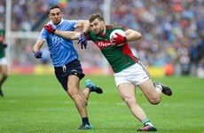 James McCarthy's All-Ireland final ended after 25 minutes for this black-card incident