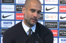 """""""What the f***?!"""" - Guardiola responds to question about Man City winning the quadruple"""