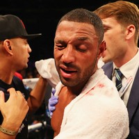 Doctors tell Brook that Golovkin bout could have left him blind
