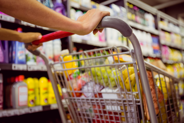 Groceries are a big expense for the average Irish household.