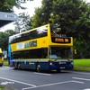 Top deck of Dublin bus damaged after crashing into tree branch