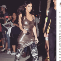 """Kim Kardashian doesn't """"give a f**k"""" that you can see her nipples.. It's The Dredge"""