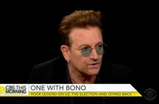 Bono says Trump is 'potentially the worst idea that ever happened to America'