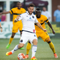 Former St Pats' midfielder enjoys eye-catching end to his debut season in North America