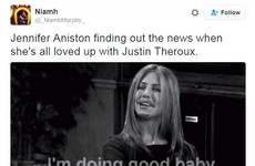 Jennifer Aniston jokes are totally dominating Twitter after the news of Brangelina's split