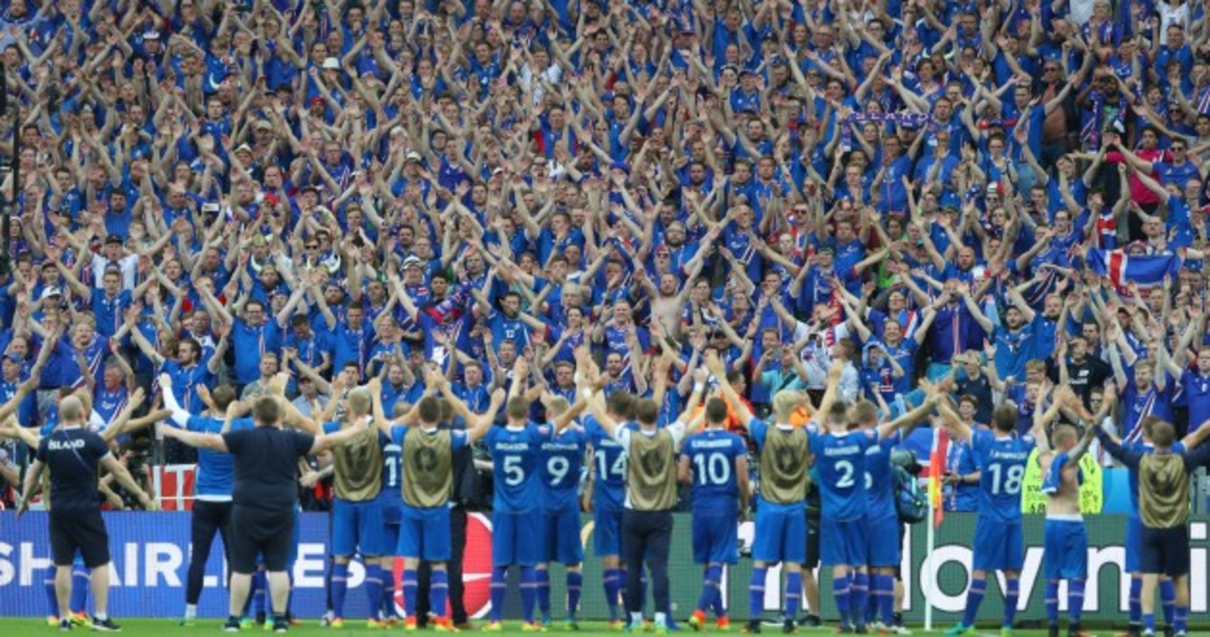 Euro 2016 Cult Favourites Iceland Have