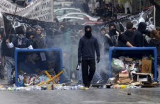Violent clashes in Athens as Greece passes austerity budget