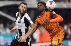 There was plenty of Irish interest in the League Cup but still no sign of injured Richie Towell