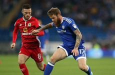 Jack Byrne managed a badly-needed 90 minutes for Blackburn last night