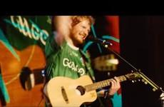 Did you spot Ed Sheeran wearing a GAA jersey in the new Bridget Jones movie?