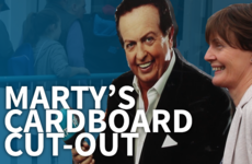 How Marty Morrissey and his cardboard cut-out own the Ploughing