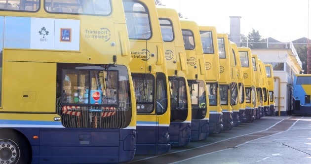 Shane Ross says he won't ride in on a white horse to stop the Dublin Bus strikes