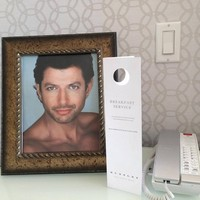 A hotel went above and beyond to fulfill this customer's very special Jeff Goldblum request