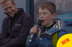 This little Tipp lad's hurling rap was the highlight of the Ploughing yesterday