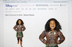 Disney pulls Halloween costume after accusations of 'brown face'
