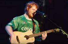 Ed Sheeran wears a GAA jersey in the new Bridget Jones film