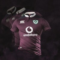 Ireland have released their new alternative jersey... and it's purple