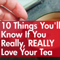10 Things You'll Know If You Really, REALLY Love Your Tea