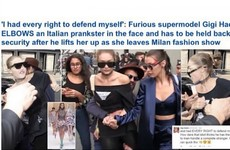 Those headlines accusing Gigi Hadid of 'lashing out' on the street are being rightly slated