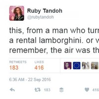 GBBO's Ruby Tandoh absolutely slaughtered Paul Hollywood on Twitter this afternoon