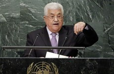 Abbas: Those who speak of a two-state solution should recognise Palestine as a state