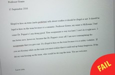 This college student wrote and turned in an essay drunk, and regretted it deeply